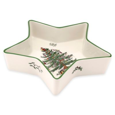 Spode® Christmas Tree Low Star Dish