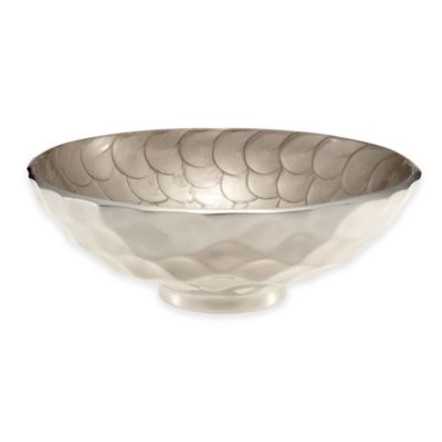 Julia Knight® Diamond 10-Inch Round Bowl in Platinum