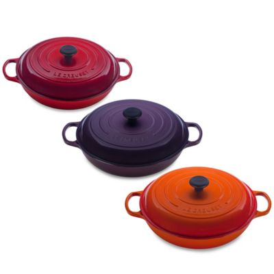 Le Creuset® Signature 5 qt. Braiser in Cherry