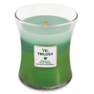 WoodWick® Trilogy Forest Walk 10 oz. Jar Candle