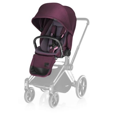 CYBEX Priam Lux Seat in Grape Juice Denim