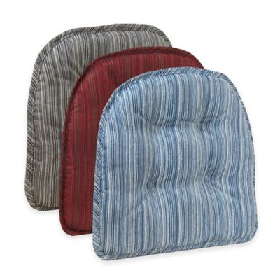 Klear Vu Tufted Sophia Gripper® Chair Pad in Blue