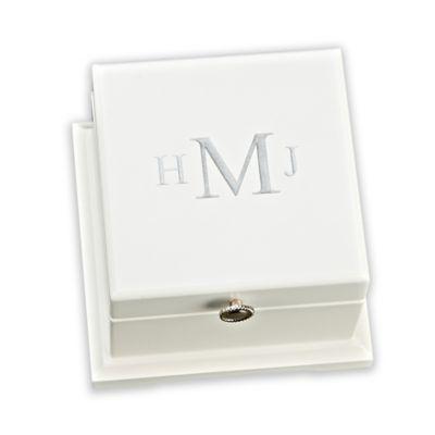 White Keepsake Box