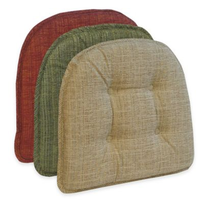 Klear Vu Tufted Accord Gripper® Chair Pad in Driftwood