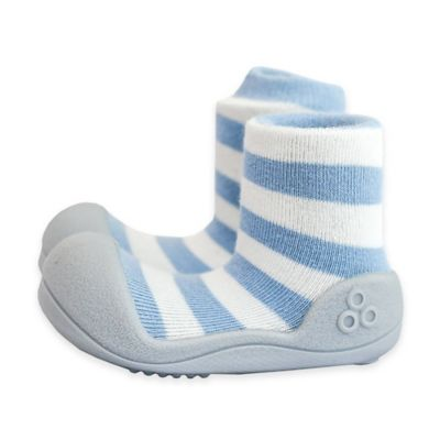 Attipas® Size 3.5 Natural Infant and Toddler Shoe in Blue
