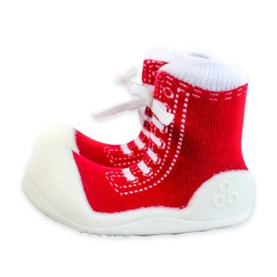 Attipas® Size 3.5 Sneaker Style Infant and Toddler Shoe in Red