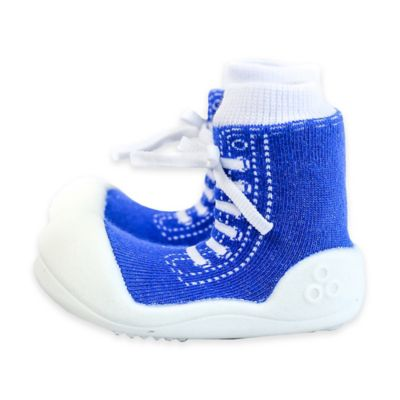 Attipas® Size 3.5 Sneaker Style Infant and Toddler Shoe in Blue