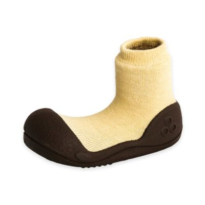 Attipas® Size 3.5 Natural Infant and Toddler Shoe in Yellow