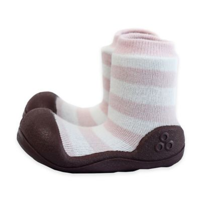 Attipas® Size 4.5 Natural Infant and Toddler Shoe in Pink
