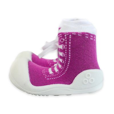 Attipas® Size 3.5 Sneaker Style Infant and Toddler Shoe in Purple