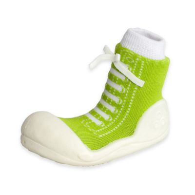 Attipas® Size 3.5 Sneaker Style Infant and Toddler Shoe in Green
