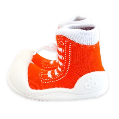 Attipas® Size 3.5 Sneaker Style Infant and Toddler Shoe in Orange