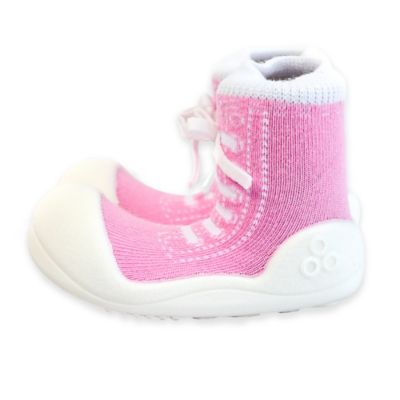 Attipas® Size 3.5 Sneaker Style Infant and Toddler Shoe in Pink