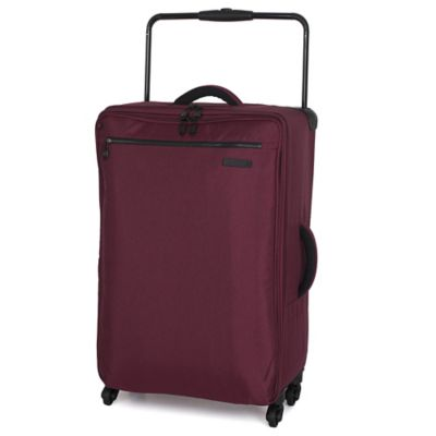 it Luggage World's Lightest® 29-Inch 4-Wheel Expandable Spinner in Chocolate Truffle