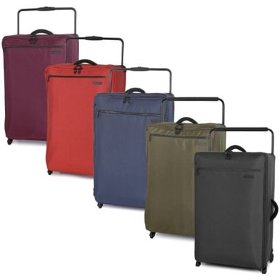 it Luggage World's Lightest® 33-Inch 4-Wheel Expandable Spinner in Magnet