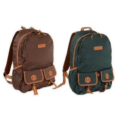 Timberland® Prescott 2-Pocket Tombstone Backpack in Brown