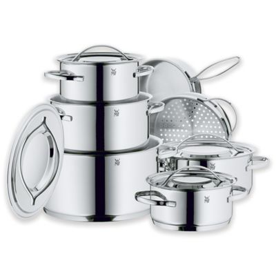WMF Gala II Stainless Steel 12-Piece Cookware Set
