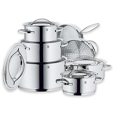 wmf gala ii stainless steel 12 piece cookware set bed bath beyond. Black Bedroom Furniture Sets. Home Design Ideas