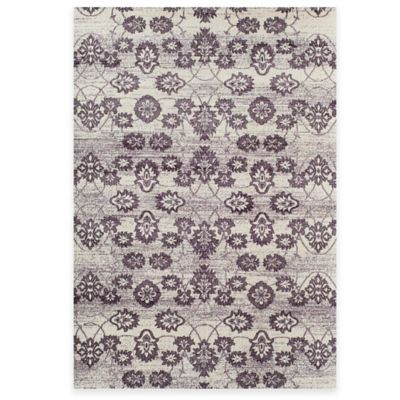 Rugs America Aspen Floral Damask 7-Foot 10-Inch x 10-Foot 10-Inch Area Rug in Beige