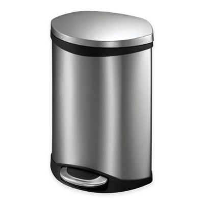 Round Trash Can With Lid