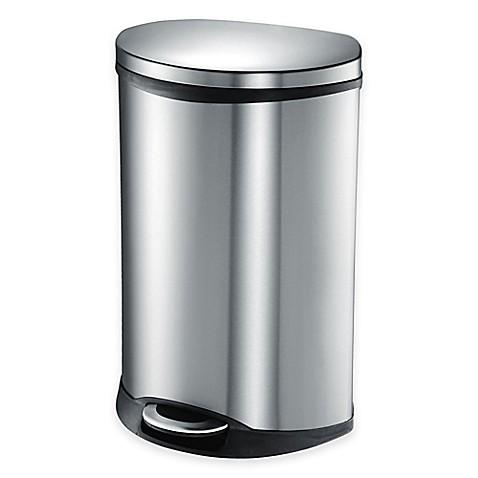 Eko Shell Stainless Steel Semi Round 50 Liter Soft Close