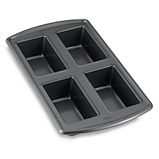 Wilton Indulgence® Professional 4-Cavity Loaf Pan