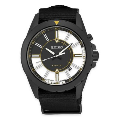 Seiko Recraft Men's Kinetic Watch Men's Watches