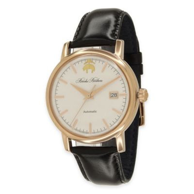 Rose Goldtone Stainless Steel Men's Watches