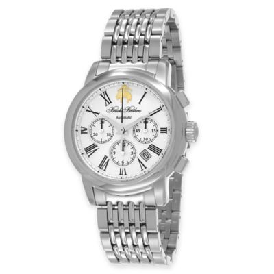 Brooks Brothers Men's Chronograph Watch in Stainless Steel
