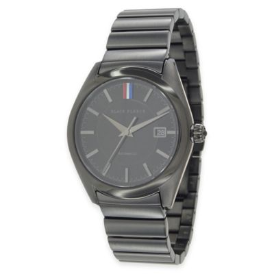 Brooks Brothers Men's Limited Edition Black Fleece Watch in Black Ion-Plated Stainless Steel