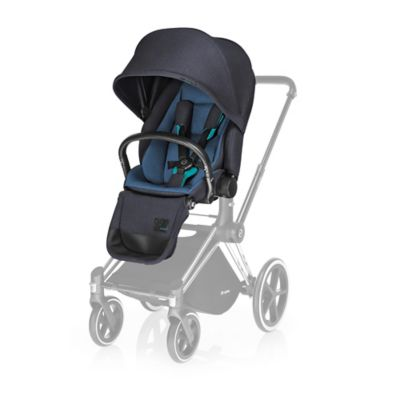 CYBEX Priam Lux Seat in True Blue Denim