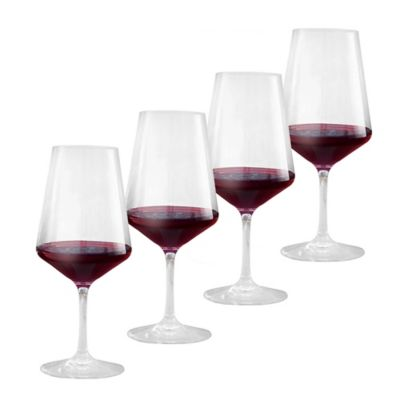 Wine Enthusiast Indoor/Outdoor Red Wine Glasses (Set of 4)