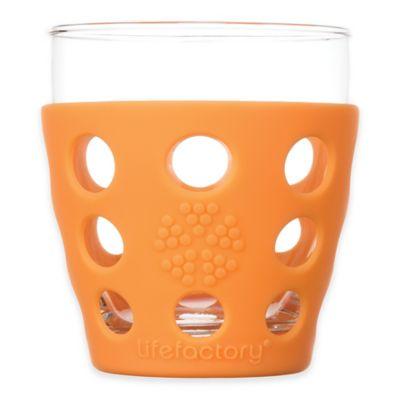 Lifefactory® Highball/Beverage Glasses in Orange (Set of 2)