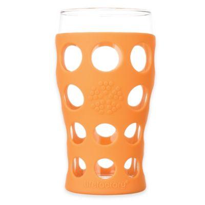 Lifefactory® Highball/Beverage Tumblers in Orange (Set of 2)