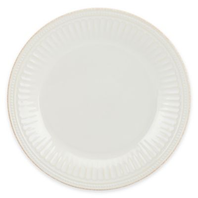 Lenox® French Perle Groove Dinner Plate in White