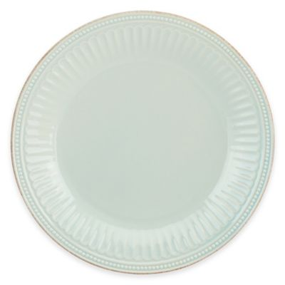 Lenox® French Perle Groove Dinner Plate in Ice Blue