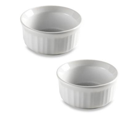 CorningWare® Bake and Serve™ French White® Ramekins (Set of 2)