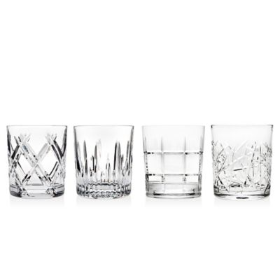 Crystal Old Fashioned Glasses