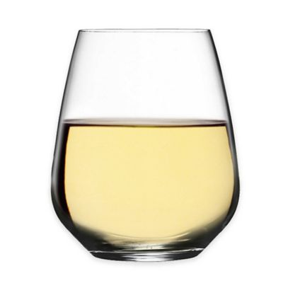 Luigi Bormioli Crescendo Stemless Wine Glasses (Set of 12)