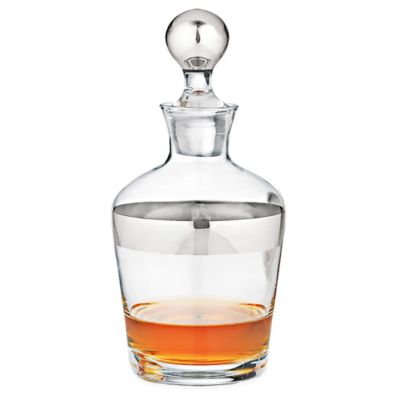 Wine Enthusiast® Madison Avenue Glass Whiskey Decanter