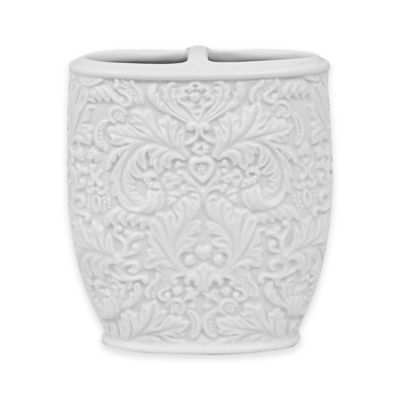 Jessica Simpson Lovely Toothbrush Holder in Eggshell