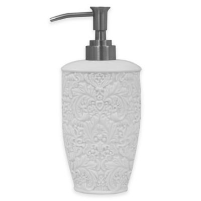 Jessica Simpson Lovely Lotion Dispenser in Eggshell