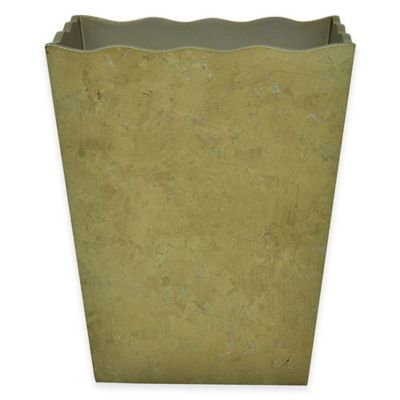Jessica Simpson Hayden Wastebasket in Gold