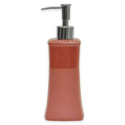 Jessica Simpson Kensley Lotion Dispenser in Coral