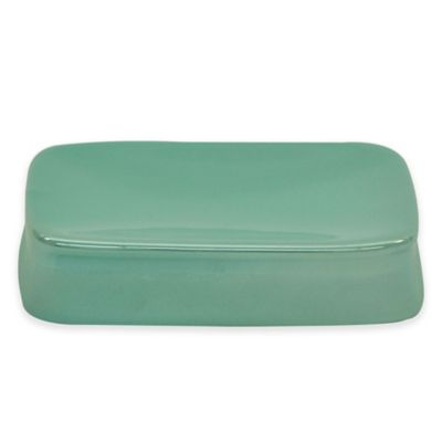 Jessica Simpson Kensley Soap Dish in Aqua