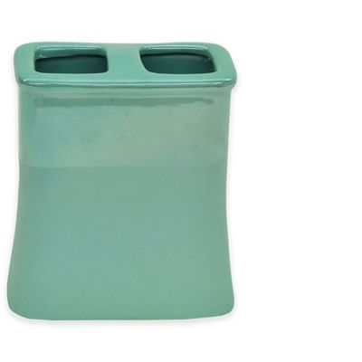 Jessica Simpson Kensley Toothbrush Holder in Aqua