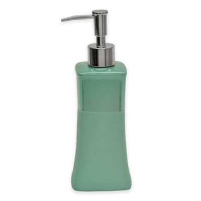 Jessica Simpson Kensley Lotion Dispenser in Aqua