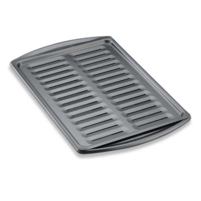 Wilton Indulgence® Professional Bakeware 16-Inch x 11 1/2-Inch Broiler Pan Set