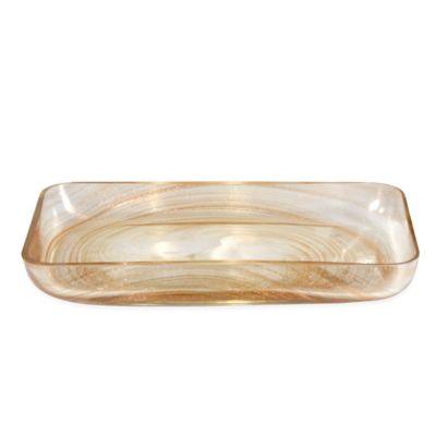 Glitter Swirl Tray