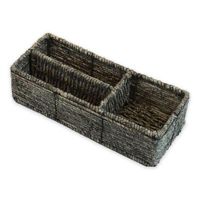 Grey Tank Basket